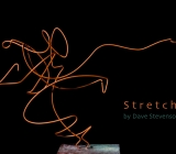 Stretch, steel wire drawing by Dave Stevenson